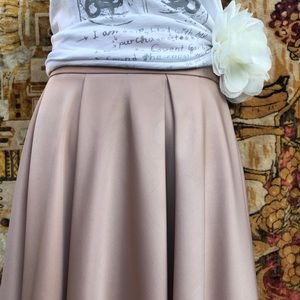 H & M Maxi Skirt Blush Color